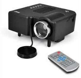 Mini proyector LED 48 lumens Uc28b video beam portátil HD 1080p