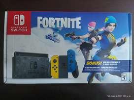 Nintendo switch edición fortnite