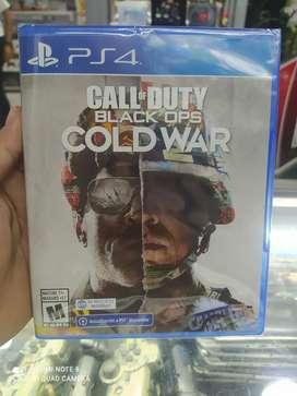 Call of duty cold war play 4 nuevos. Variedad en juegos