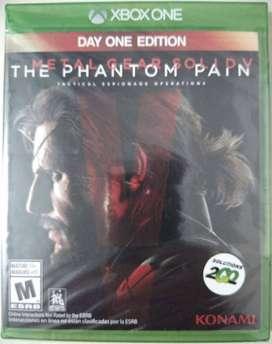Metal Gear Solid V Xbox One nuevo y sellado