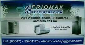 REFRIGERACION , AIRE ACONDICIONADO ,HELADERAS