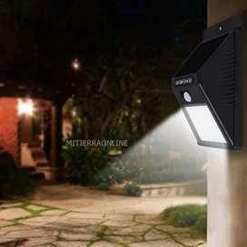 Lámpara Solar Exterior con sensor Automatico