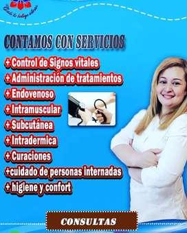 Masoterapeuta, Enfermera y Cosmetología