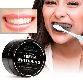 Blanqueador dental carbono