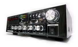 Amplificador teatro en casa american sound