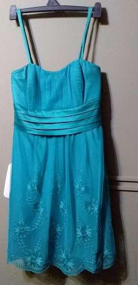 Vestido verde esmeralda