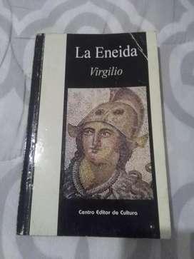 LA ENEIDA . VIRGILIO  . LITERATURA ROMANA LIBRO CENTRO EDITOR DE CULTURA