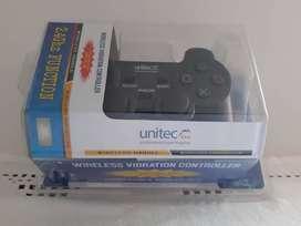 control wireles 2 en 1 unitec gt-6107 para pc y play 3