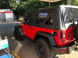Jeep wrangler carpado edicion especial