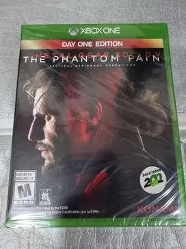 Metal Gear Solid V Xbox One Nuevo