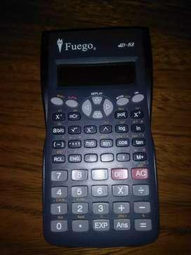 Calculadora cientifica con 240 funciones SD-82para profunionales y Escolar ,funciona perfecto