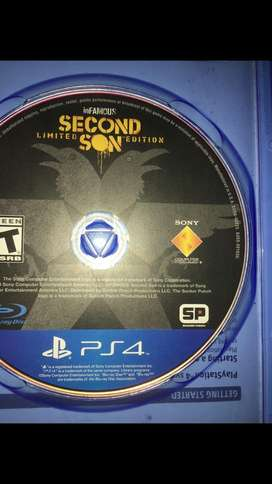 inFAMOUS Secon Soon (PS4).
