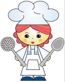cocinera con experienca