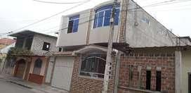 Vendo casa Rentera de dos Plantas en la ciudadela Lucha de los Pobres e una cuadra de la casa  En la Av, La Ferroviaria