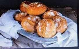 necesito panadero medio tiempo