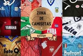 Camisetas Retro - Todas las epocas - Equipos de todo el mundo