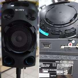 Parlante SONY-V02 con pedestal Negro 5000W