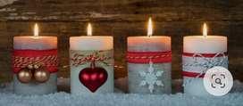 Venta de velas artesanales