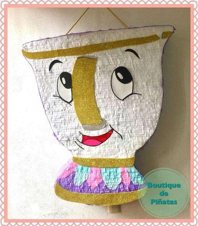 Piñata La Beñla Y La Bestia 0