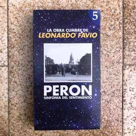 Peron - Sinfonia de un Sentimiento - Colección Original Completa - VHS