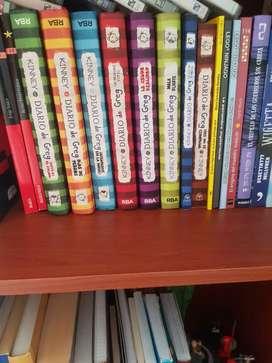 Diarios de greg colección completa 1 a 8 pasta dura