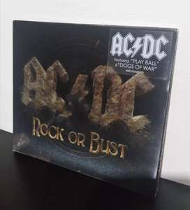 CD ACDC ROCK OR BUST