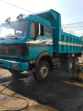 Volqueta Mercedes Benz 2638 tipo mula