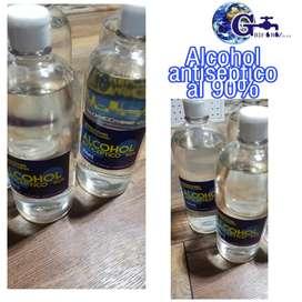 Alcohol antiséptico 90%