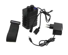 Cargador de batería 15600mAh recargable 18650 salida USB