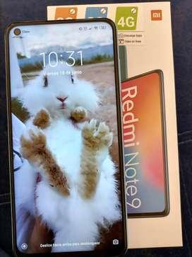 Se vende celular xiaomi redmi note 9 totalmente nuevo