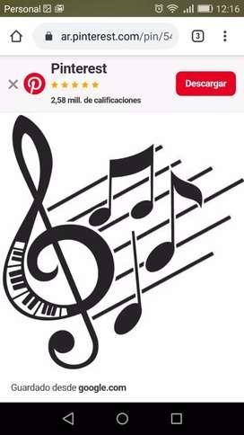Clases online de lenguaje musical