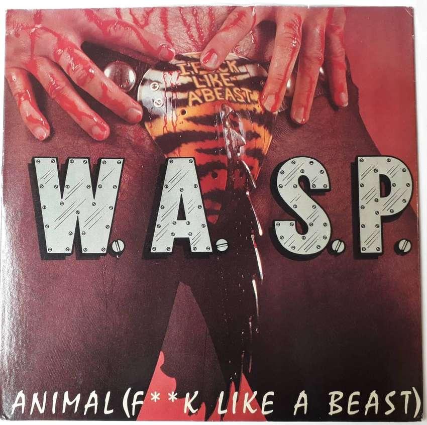 W.a.s.p / F**k Like A Beast Vinilo Lp Original 1985