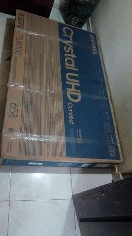 Se vende un tv Samsung de pakete de 65 4k