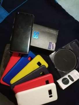 Samsung Galaxy s8 con todo original