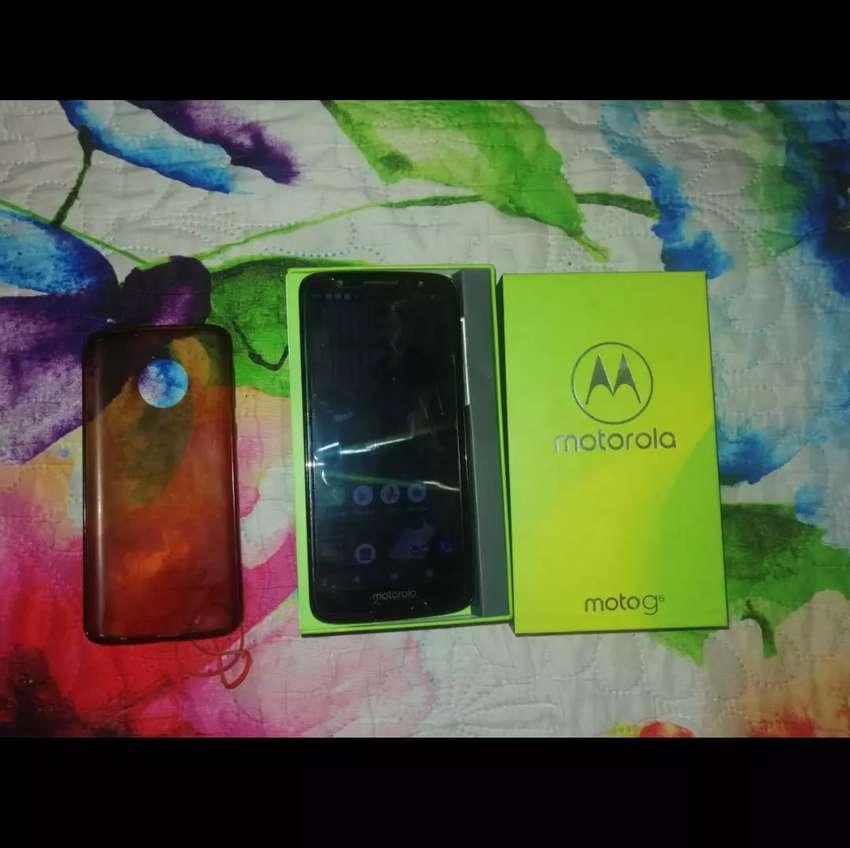 Vendo Motorola G6 en perfecto estado. 0