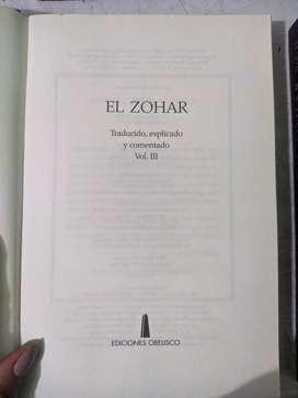CAMBIO o VENDO libros de kabala zohar sin usar