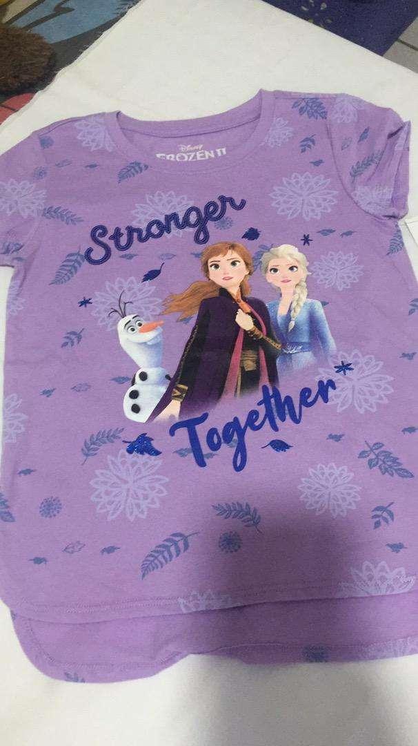 Camiseta para niña talla 8