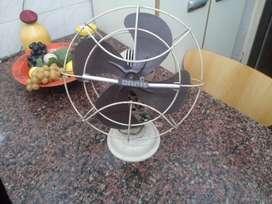 ventilador antiguo de chapa funcinando