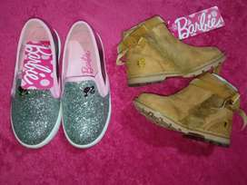 Botas y Balerinas Barbie