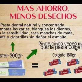 Crema dental exclusiva para brackets