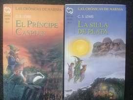 Saga Libros Narnia cada uno a $990