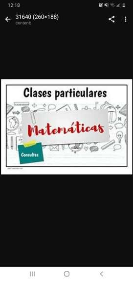 Se dan clases y accesorias