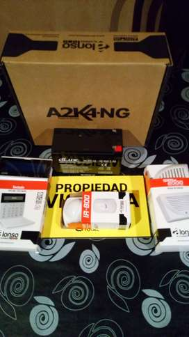 kit alarma alonso a2k4-ng