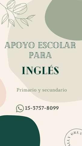 Apoyo escolar: Inglés