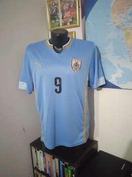 Camiseta de la selección de Uruguay.