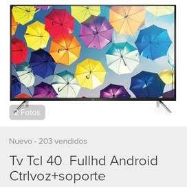 Tv tcl android de 40 pulgadas