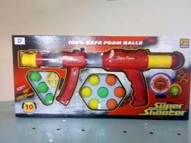 Juguete Pistola Super Shooter Nuevo Sellado