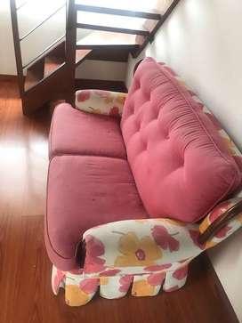 sofa  2 puestos