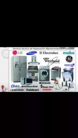 Servicios a domicilios en electrodomésticos garantisado