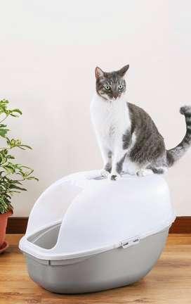 Arenera cubierta para gatos incluye Pala